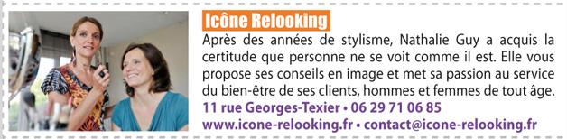 Article du VO mag à propos de l'Agence de conseil en image Icône Relooking.