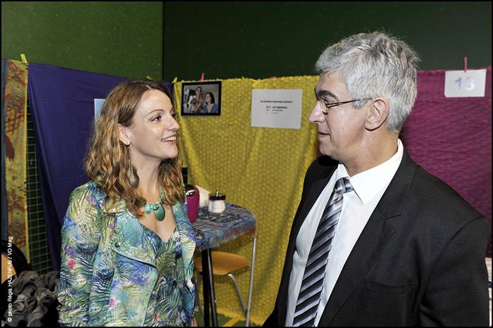 Présentation de Nathalie de l'agence Icône Relooking au forum de l'emploi.