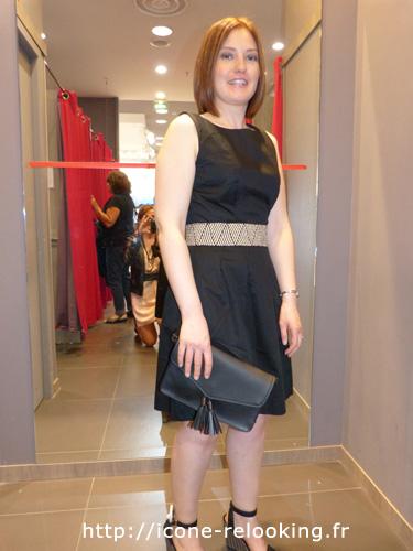 Céline a pris de l'assurance et a acquis un style tout en féminité grâce à Icône Relooking Bordeaux.